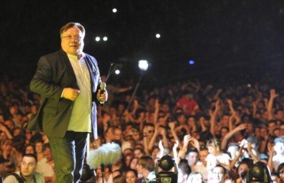Koncert Halida Bešlića na stadionu Babovac u Ljubuškom
