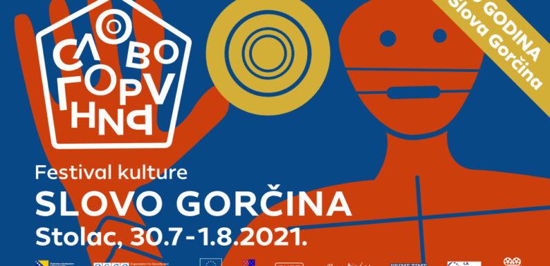 "PROGRAM FESTIVALA KULTURE ""SLOVO GORČINA"" 2021"