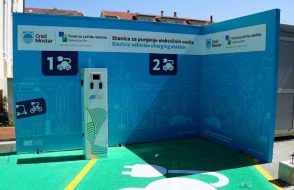 Mostar dobija prvu javnu punionicu električnih automobila