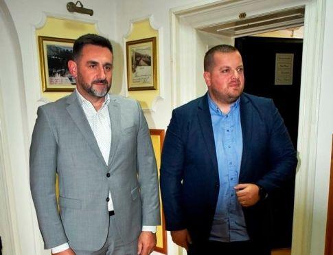 Edin Ramić, federalni minisar raseljenih osoba i izbjeglica u posjeti Ljubuškom