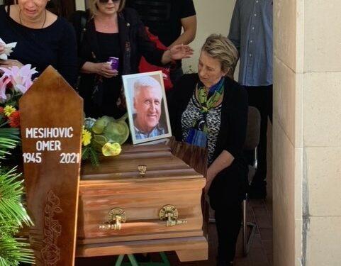U Sutini sahranjen Omer Mesihović