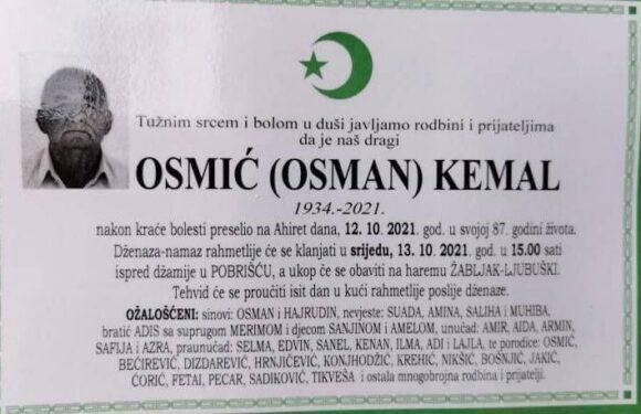 Preselio Osmic(Osman)Kemal